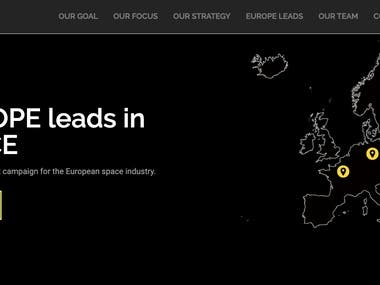 Europe Leads | Website