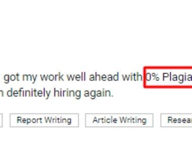 0% plagiarism