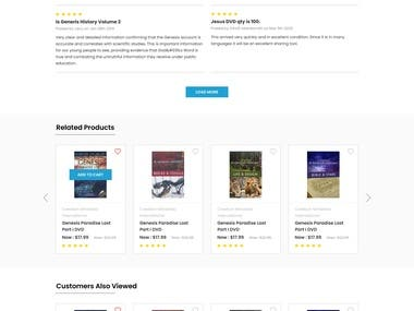 New Design on Product Detail Page of Bigcommerce store
