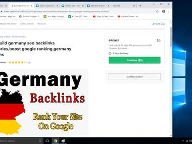 I will build UK seo backlinks directories, boost google rank