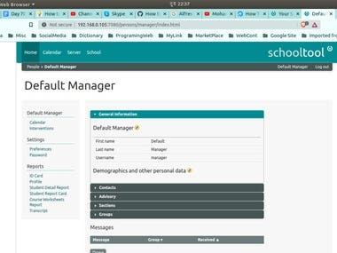 I will do install SchoolTool in any Linux