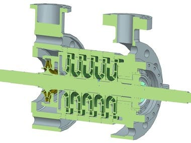Reverse Engineering and Design of a pump