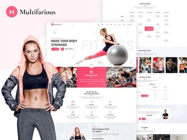 Services Responsive HTML Template