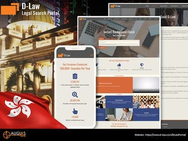 D-Law (Legal Search Portal)