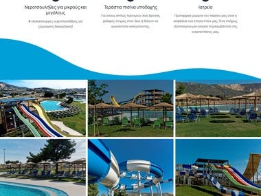 Website build for waterfun water park