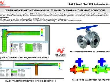 DESIGN AND CFD OPTIMIZATION ON DN 100 VALVE