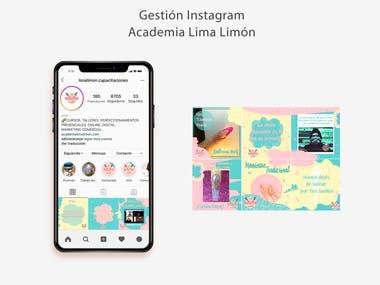Gestión Instagram Academia Lima Limón