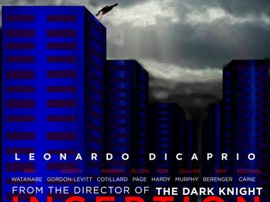 """Alternative poster of """"Inception (2010)"""""""