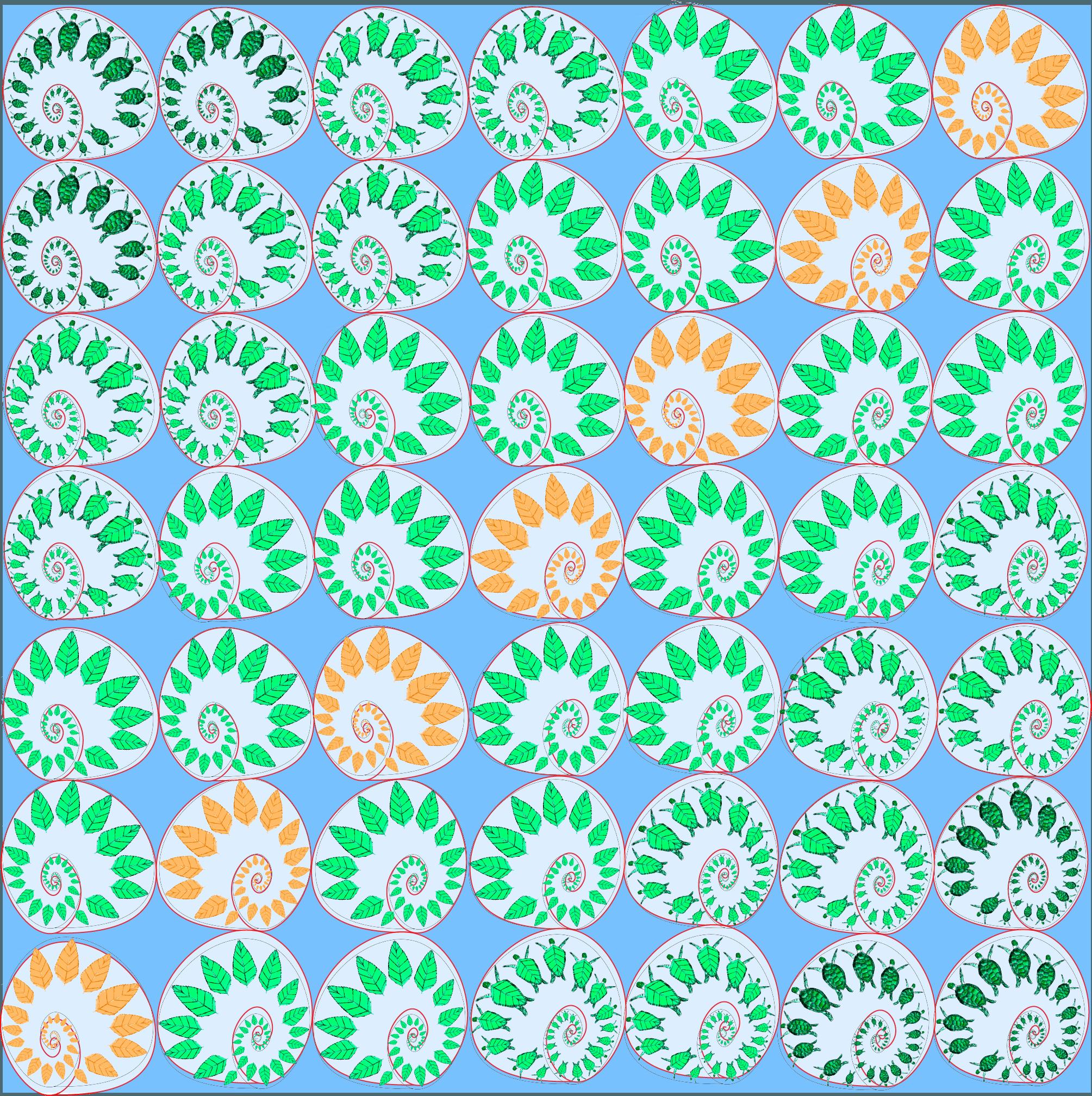Pattern of Conchagua, El Salvador