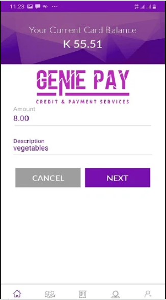 GeniePay Mobile Application