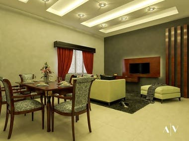 Interior designs and Renders.