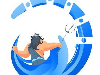 Poseidon Application Logo