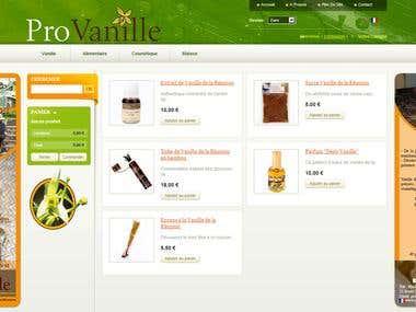 Vanilla e-Commerce