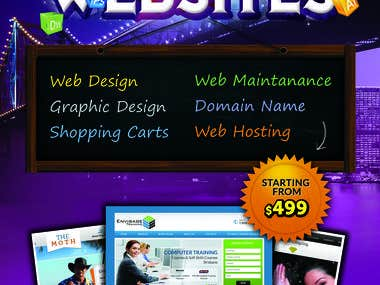 Web agency ad