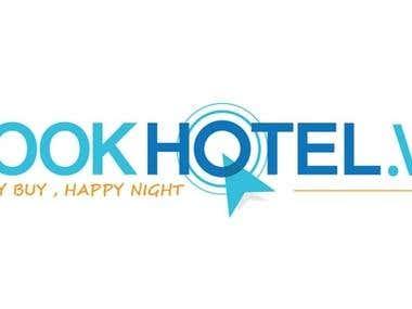 Logo Design - Book Hotel website logo