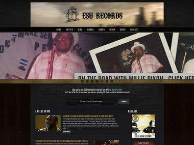 ESU Music website