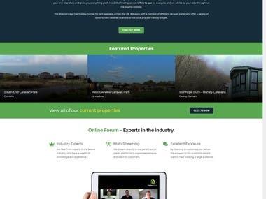 Real Estate Advertising Web Site
