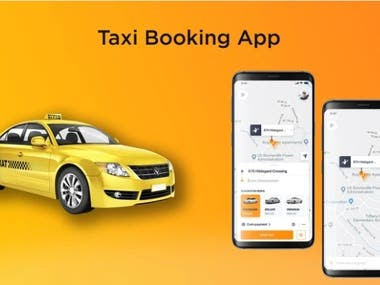 Taxi booking app with web dashboard