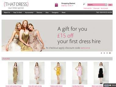 That-Dress is a designer dress rental agency..