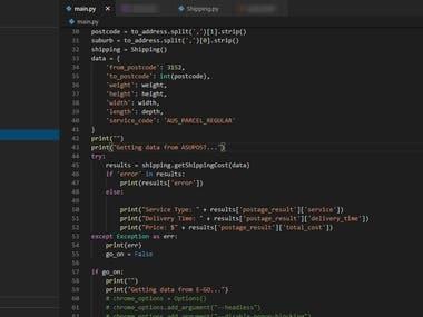 ? Webcrawling Tool on Windows using Python