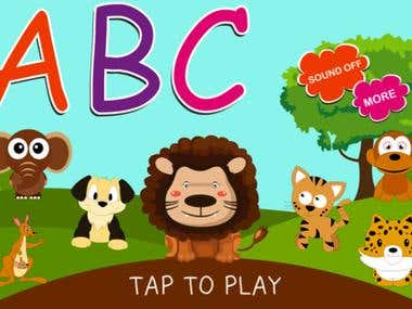ABC Baby Zoo Flash Cards | iPhone & Android