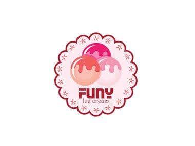 Logo Design - Funy Ice Cream