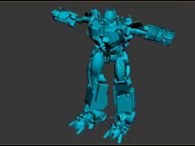 Transformer Animation Work