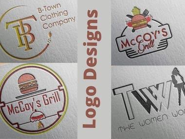 Eye catching logo designs