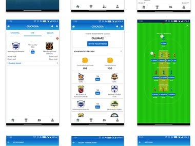 Cricket Fantasy Game app