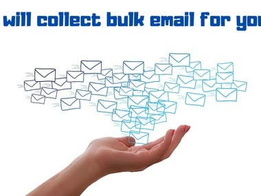 I will collect bulk email for you