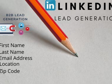 I will do linkedin lead generation for you