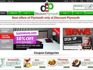 Discount Plymouth | Daily Deal Website