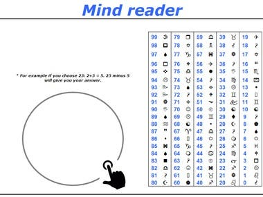 Mine Reader Project