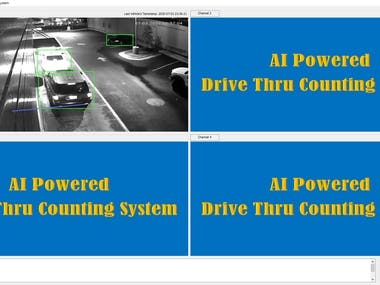 AI Powered Drive Thru Counting System