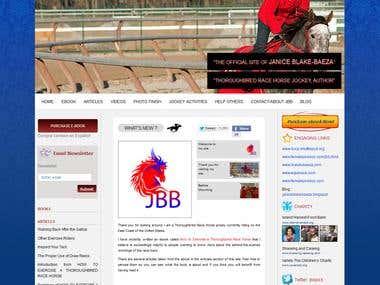 Janice Blake-Baeza Thoroughbred Race Horse Jockey