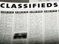 Classifieds Sample