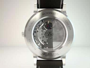 3d Render of watch