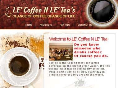 LE Coffee & LE Tea