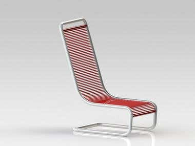 SolidWorks Chair