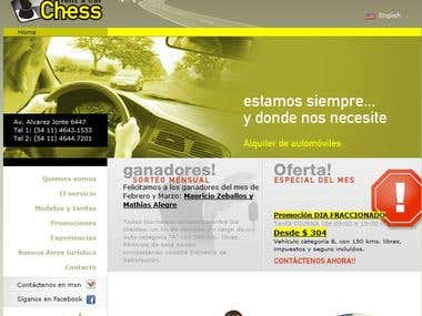 Rent a Car website, Ajax / Jquery
