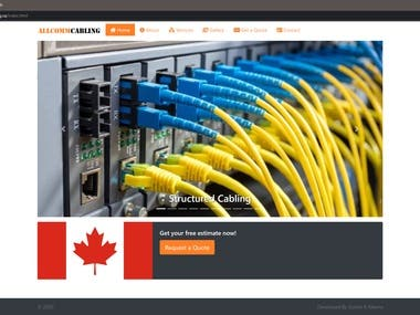 AllComm Cabling Website