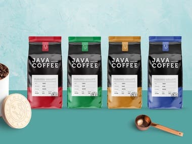 Coffee Complete Branding And Packages