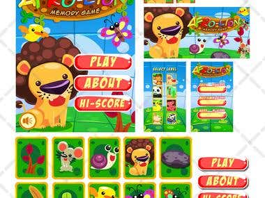 Game Unit Interface Afro Lion
