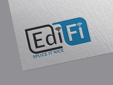 EdiFi Logo (Splice it Nice)