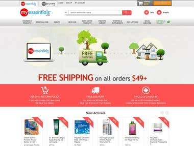 Ecommerce Project - Onpage + off page SEO, Email Marketing