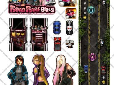 Game Unit Interface Road Rage