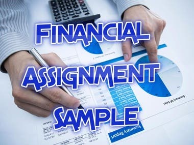 Financial Assignment - Sample