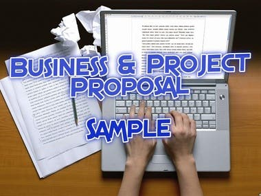 Business & Project Proposal - Sample