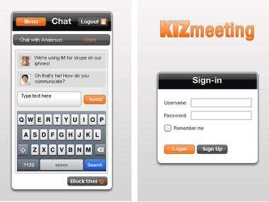 KizMeeting (iPhone/Android)