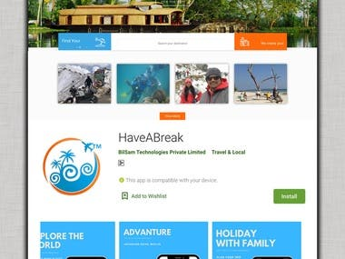 Travel Tourism App